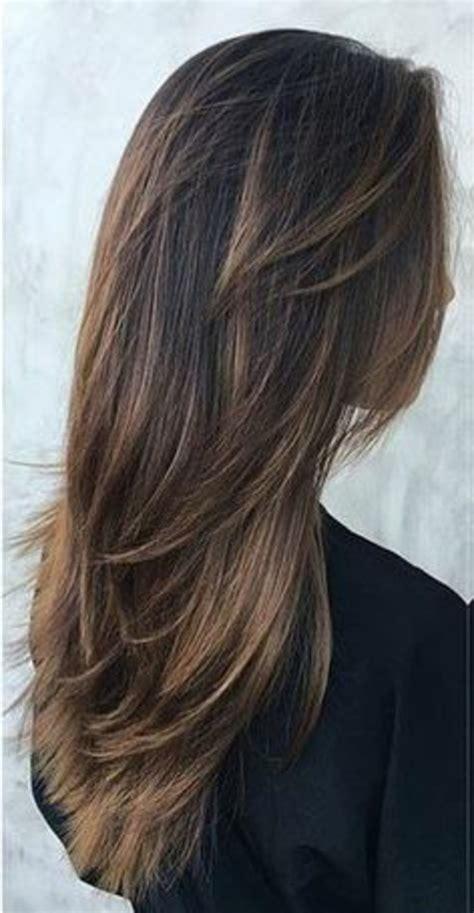 pelo largo corte cortes de pelo largo fleco largo oscuro peinados