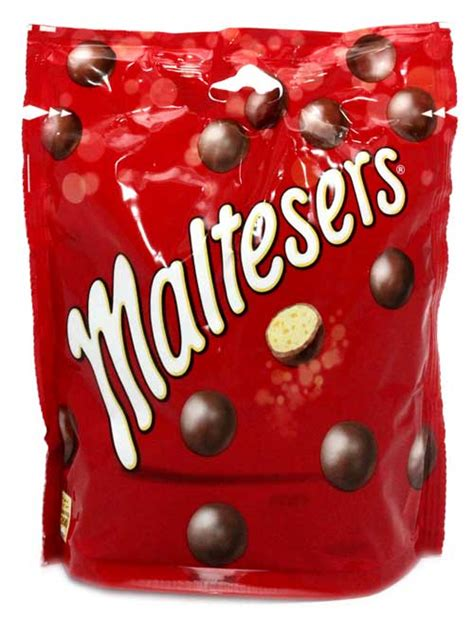 Maltesers Pouch 150g chocolate bags boxes