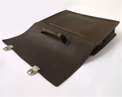 Oil Cloth Rug Half Cut Oil Pull Leather Briefcase Messenger Bag Basader
