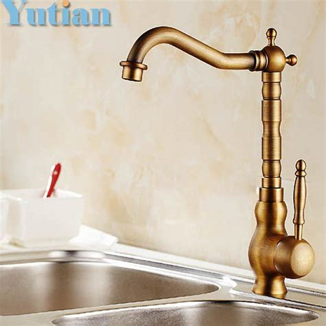 Crane Faucets by Free Shipping Kitchen Faucet Antique Brass Swivel Bathroom