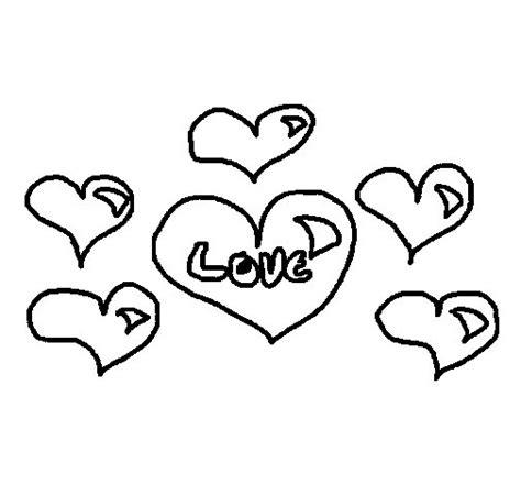 dibujos para colorear corazones bonitos fotos de corazones dibujo de corazones 2 para colorear dibujos net