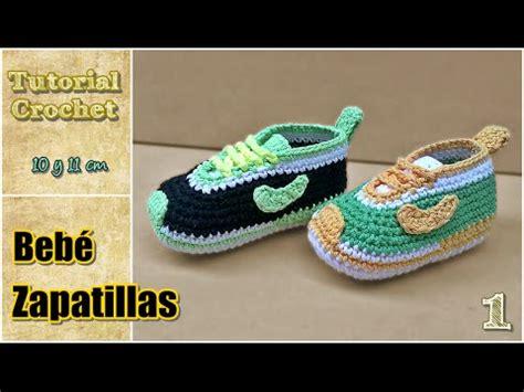 zapatos crochet paso a paso youtube zapatitos para beb 233 a crochet talle 10 y 11 cm paso a