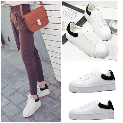 Fashion Sepatu Wedges T135 White jual shs2682 white sepatu fashion import grosirimpor