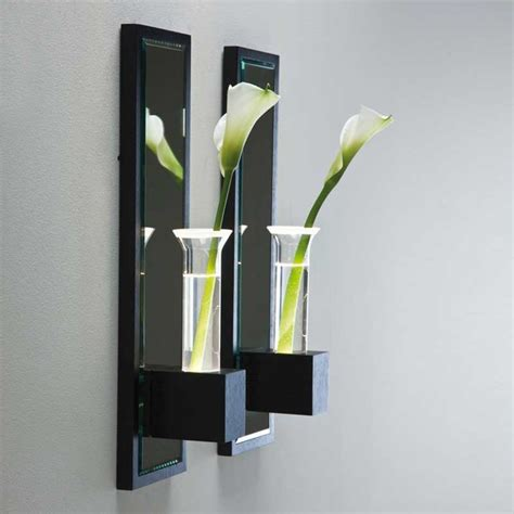 Wall Sconce Vase by Lala Wall Vase Sconce Modern Vases By Lightology