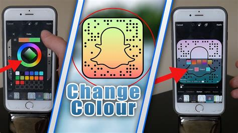 how to change your snapchat color how to change your snapchat snapcode colour snapchat