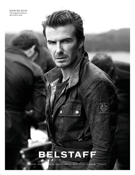 Home Design Magazine Covers by David Beckham By Peter Lindbergh For Belstaff