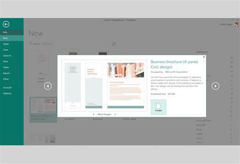 publisher brochure templates free publisher fold brochure templates
