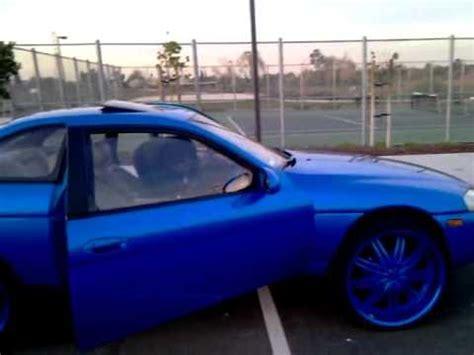 lexus sc400 blue and blue 96 coupes quot sc400 quot clappin