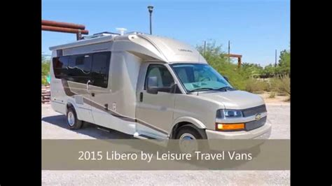 libero rv 2015 libero by leisure travel vans available for sale at