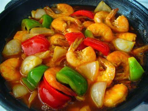 resep udang goreng saus tomat