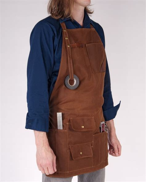 pattern for leather apron red clouds collective waxed canvas apron tool rool