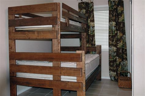 full  full bunk bed plans bed plans diy blueprints