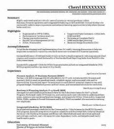 financial analyst resume sle best analyst resume exle livecareer