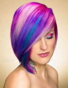 with colorful hair different ideas of haircuts and hair color shades