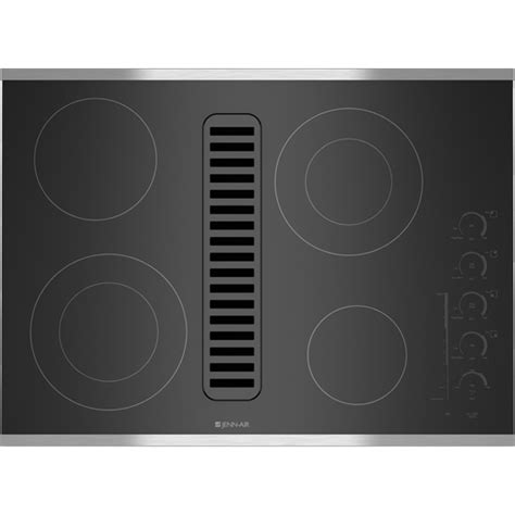 jenn air downdraft range fan switch jed4430ws electric radiant downdraft cooktop with