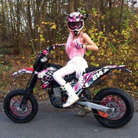 Motocross Motorrad Pink by 17 B 228 Sta Bilder Om Supermoto P 229 Pinterest Gopro