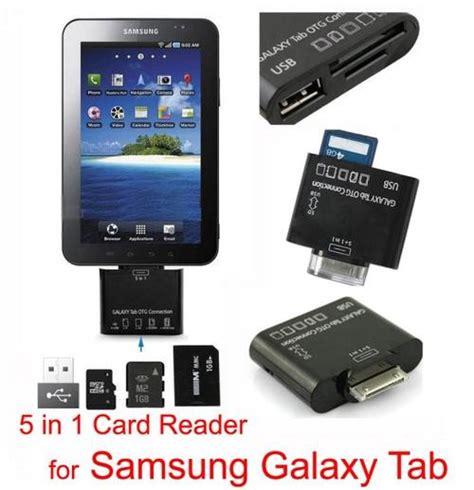 Dijamin 5in1 Samsung Galaxy Tab Otg Connection Kit accessories 5 in 1 usb otg connection kit for samsung
