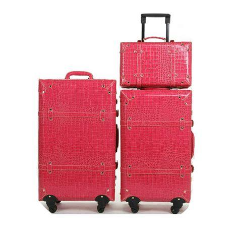 Pattern Travel Set 6 In 1 Bags In Bag Organizer Tas Set Dalam Kope travel bags crocodile pattern vintage trolley