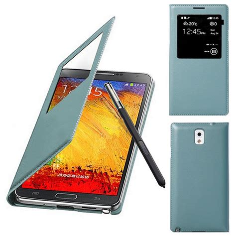 Note 3 N9000 Flip Cover S View s view leder flip cover tasche h 252 lle f 252 r samsung