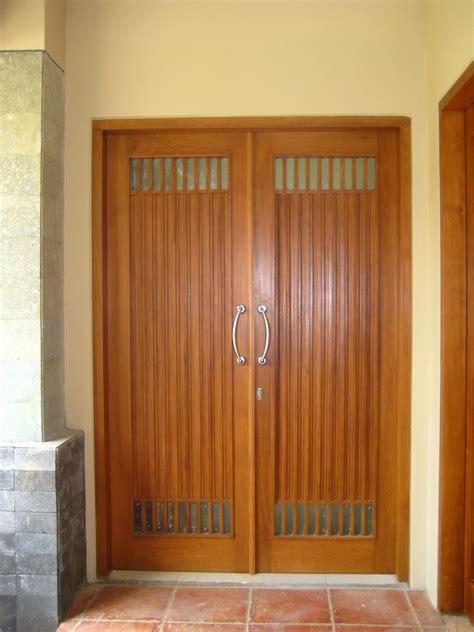 model pintu rumah minimalis desainrumahnyacom