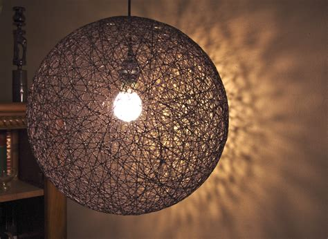 items similar to hanging sphere string light 18 quot hemp