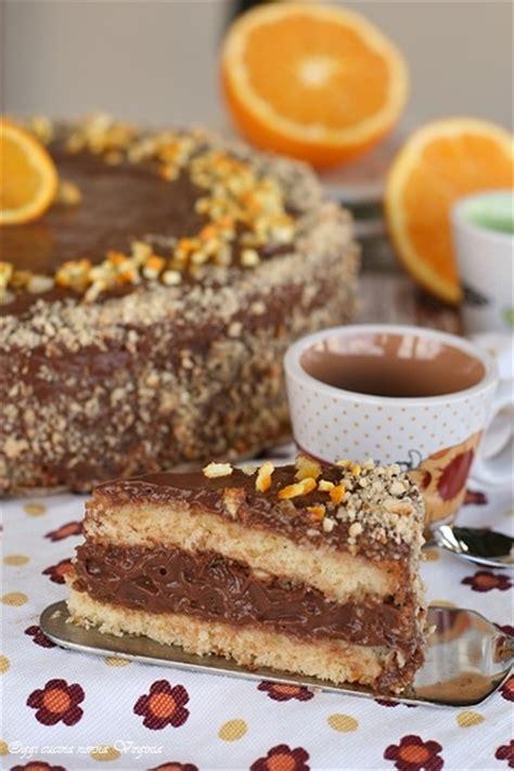 come bagnare una torta al cioccolato torta arancia e crema al cioccolato fondente