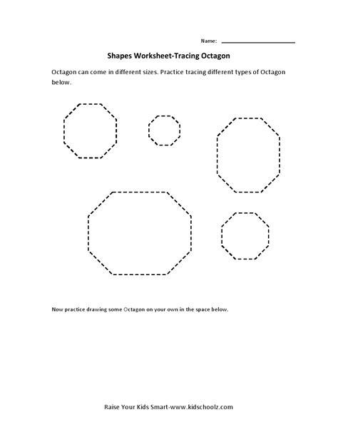 12 best images of octagon shape printable worksheet