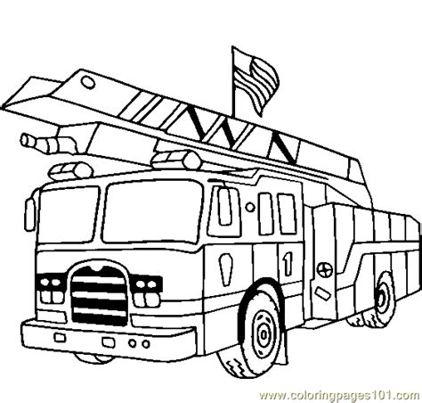 fire truck coloring pages free printables sketch coloring page