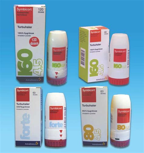 Symbicort Turbuhaler 160 4 5 Mcg 120 Doses Obat Asma Inhaler symbicort turbuhaler 160 4 5 120 rf088