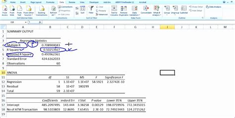 regression analysis excel template 8 regression analysis excel template exceltemplates