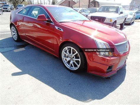 Cts 2 Door by 2011 Cadillac Cts V Coupe 2 Door 6 2l
