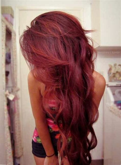 colour style cherry coke red plum burgundy black all about hair