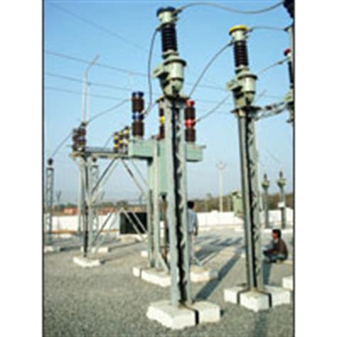 Cross Arm Dead End Set go switches manufacturer by khemka power projects pvt ltd