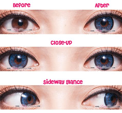 colored contacts before and after colored contact lenses before and after www pixshark