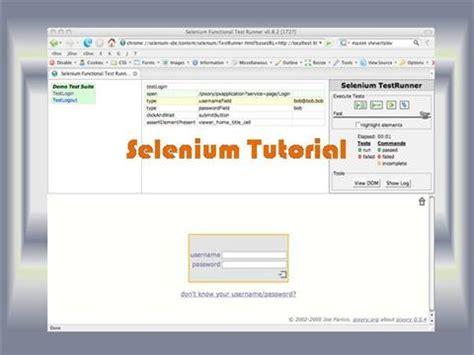 Selenium Tutorial Powerpoint Slides   selenium tutorial authorstream