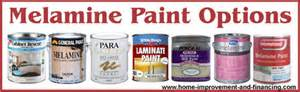 Melamine paint is a urethane re inforced oil based paint which can
