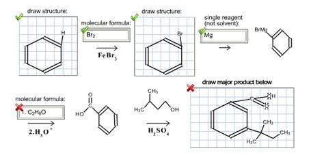 draw scheme solved draw the missing reagents and products in the synt