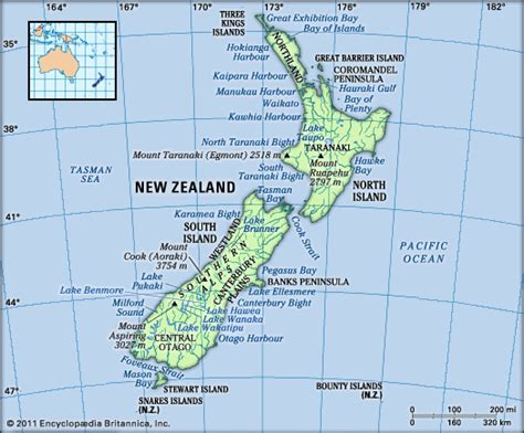 New Zealand Landscape Sts Issue 1 new zealand history geography points of interest britannica