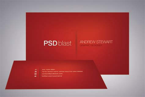 sided business card photoshop template color business card template psdblast