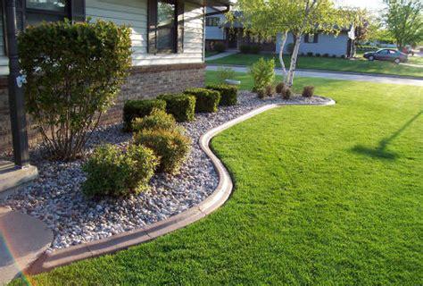 Landscape Edging Portland Oregon Landscape Curbing Concrete Edging Alternative Edge