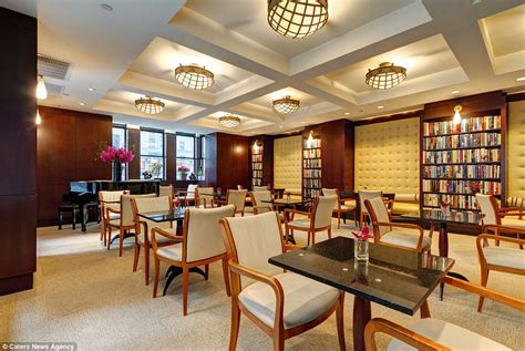 library reading room new york s library hotel inspired by dewey decimal system daily mail