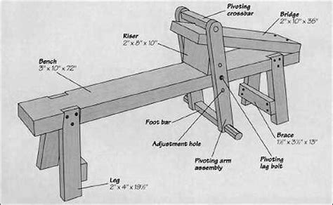 drawing horse bench plans 2x4 adirondack chair plans simple shave horse plans