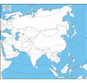 Asien  Kostenlose Karten Stumme Karte