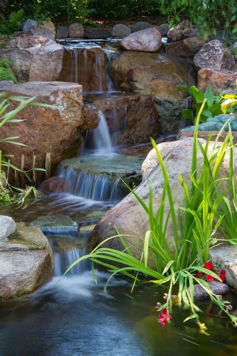 aquascape st charles il waterfall created by aquascape designs in st charles il