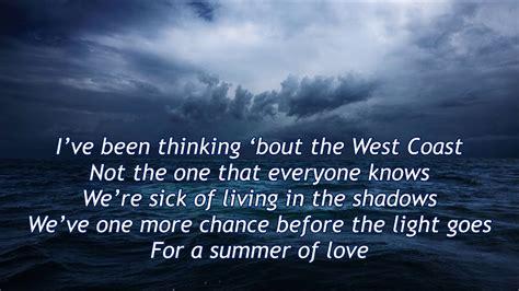 summer testo u2 summer of lyric