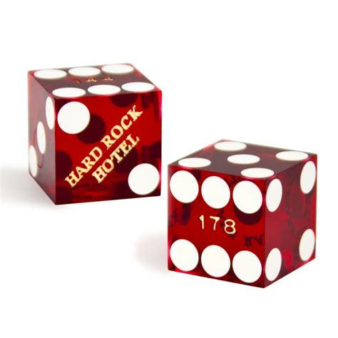 19mm Dice pair 2 of official 19mm casino dice used at the