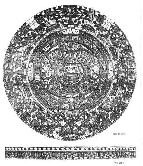 Calendario Azteca Diferencias Calendario Azteca Cultura Azteca Newhairstylesformen2014