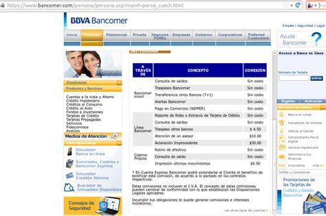 ejemplo estado de cuenta bancomer redacciones personales mi experiencia con cuenta express