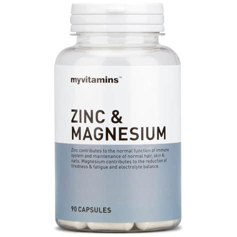 What Type Zinc For Detox by Zinc Magnesium Buy Mankind