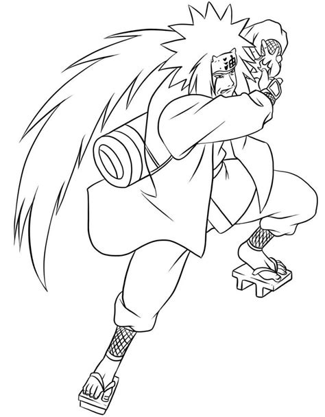 coloring pages naruto characters free printable naruto coloring pages for kids